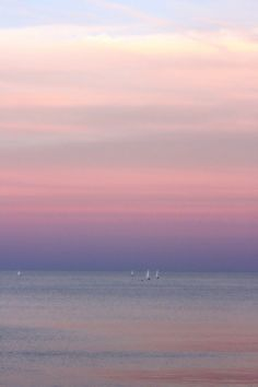 Beautiful picture..... It blurs the horizon line with the sky....great color, also