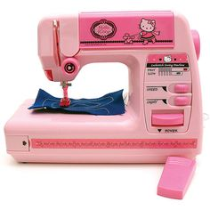 hello kitty sewing machine pink