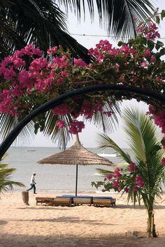 ivory coast beach, senegal #africa #travel