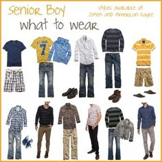 senior guy: what to wear