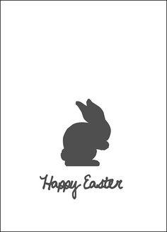FREE printable Easter-Bunny print