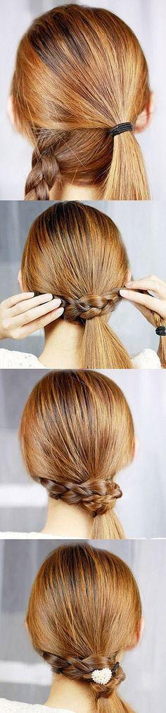 cute simple hair