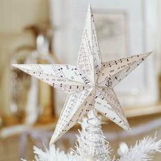 Musical Star Tree Topper