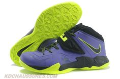 Nike Lebron Zoom Soldier VII Court Pourpre/Flash Lime 599264 006