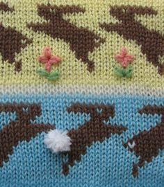 Free Bunny Knitting Chart