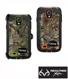 #NEW Otterbox Defender Samsung Galaxy S4 in Realtree Xtra Camo  #realtreeXtra