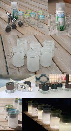 diy solar jars