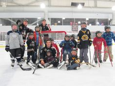 Condors players share the game with young fans in Try Hockey Free night