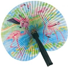 Flamingo Paper Fan (Plastic Handle) at theBIGzoo.com, a family-owned store. Check our sales & FREE Shipping.