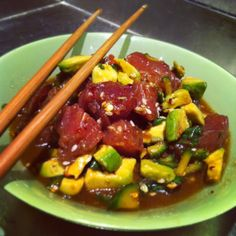 Gluten Free Ahi Tuna Salad