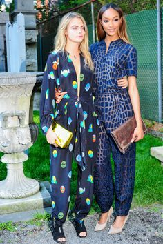 Looks by Stella McCartney: Cara Delenvigne  #models #celebrities