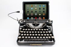 USB Typewriter Computer Keyboard  Black Underwood by usbtypewriter, $799.00