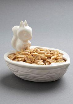 Squirrel Snack Bowl