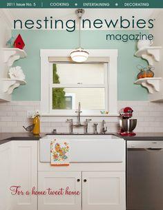 Nesting Newbies magazine #cooking #entertaining #decor