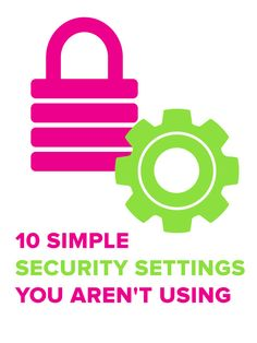Your online security is important. Take it seriously! Follow these important tips.