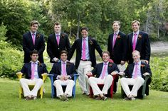 Brightly Colored Preppy Wedding - Preppy Wedding Style