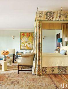 An Effortlessly Chic Hamptons Retreat: Master Bedroom