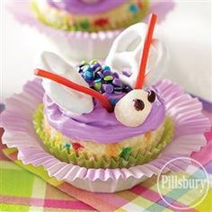 Butterfly #Cupcakes from Pillsbury® Baking #GoBold