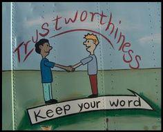 trustworthy person