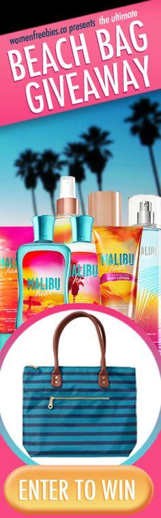 Win a Beach Bag with Scent-Sational Summer Essentials *Contest Closes Aug 19* http://womenfreebies.ca/contest/beach-bag-wf/