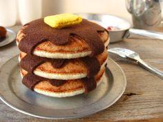 NEW Felt Pancake Breakfast. $40.00, via Etsy.  So realistic!