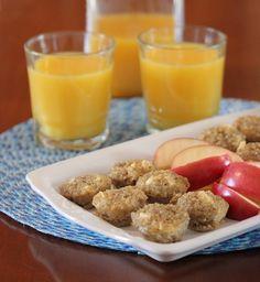 Quinoa Apple Breakfast Bites [Lisa's Dinnertime Dish]