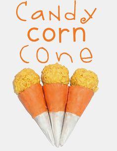 Candy Corn Cone