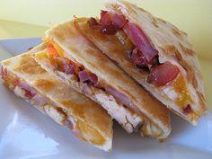 Chicken Bacon Quesadilla