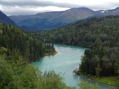 What a beautiful view at Kenai Princess Lodge at Cooper Landing on Alaska's Kenai Peninsula. #YukonHo!