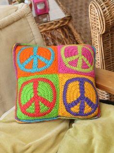Almohadón Simbolo de la Paz