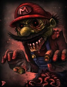 Zombie Mario -byDustin Lincoln