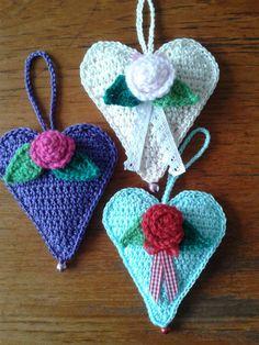 José Crochet: Another great heart ♥ Nog een geweldig hart
