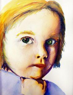 adorable little watercolour by Karsten