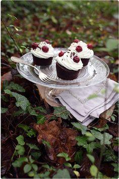Muffins forêt noire