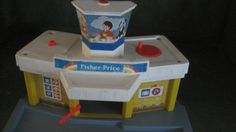 Vintage Fisher Price toy airport 1980's model by FunFindsVintage, $20.00