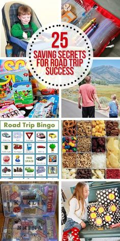 25 saving secrets for road trip success