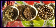 Wise Water Tea - This combination of 3 herbs increases our digestive ability as well as extremely effective as detoxification tonic. It is a delicious detoxifying tonic, for after the holidays,  but has specific uses in herbal medicine circles; to help the body strengthen and clear toxins after cancer chemotherapy.                                                                                                                           Carol Little                                                                   • 3 weeks ago                                                                                                   Wise Water ~ Super way to start 2014!                                                                                                                                                                                                                                                             Jessica @ Delicious Obsessions                                                                   • That's you!                                                                                                                                                   Comment