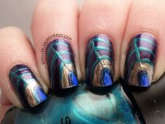 omd2nails - feathers