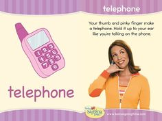 Learn Sign Language » Sign of the Week – Telephone