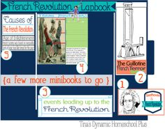 French Revolution Lapbook–Minibooks