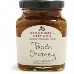 Stonewall Kitchen Peach Chutney, 8 1/2 Oz. Get Free Shipping on all Coffee and Expresso Gifts from Sur la table  #SummerCatalogsContest