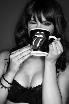 Rolling Stones coffee pot