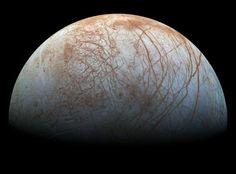 NASA issues 'remastered' view of Jupiter's moon Europa