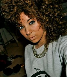curly hair :)