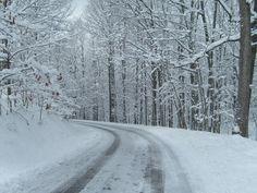 Gatlinburg, TN.... I drove this route recently. :)