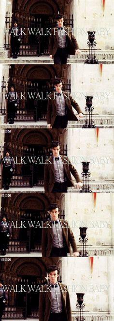 Walk Walk Fashion Baby. #DoctorWho