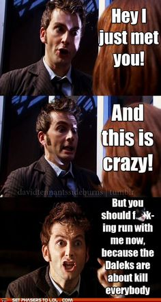 How Everyone Meets the Doctor - Doctor Who - Tenth