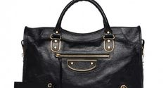 The new Balenciaga City bag with Gold Inlay for Resort 2014 - love it!
