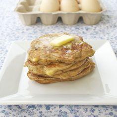 Coconut Flour Apple Pancakes