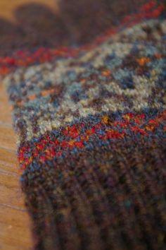 incredible colour combination, via woolenflower